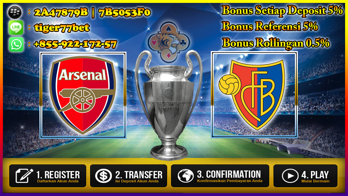 Prediksi Arsenal vs FC Basel 29 September 2016