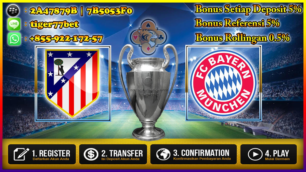 Prediksi Atletico Madrid vs Bayern Munchen 29 September 2016
