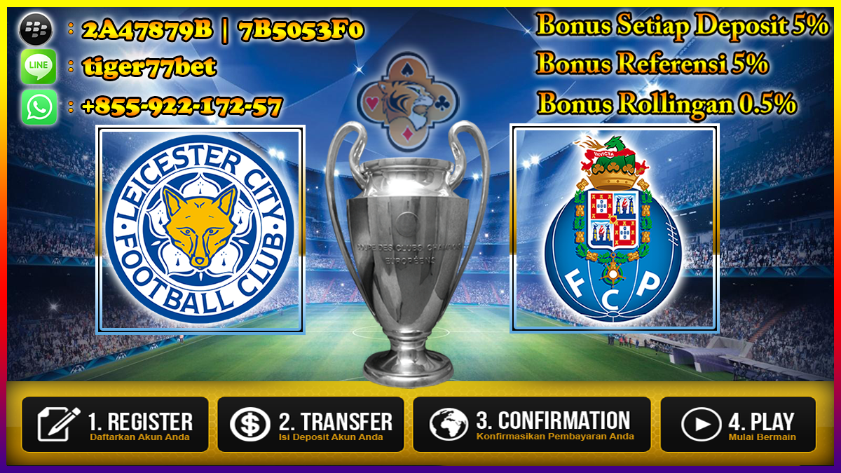 Prediksi Leicester City vs FC Porto 28 September 2016