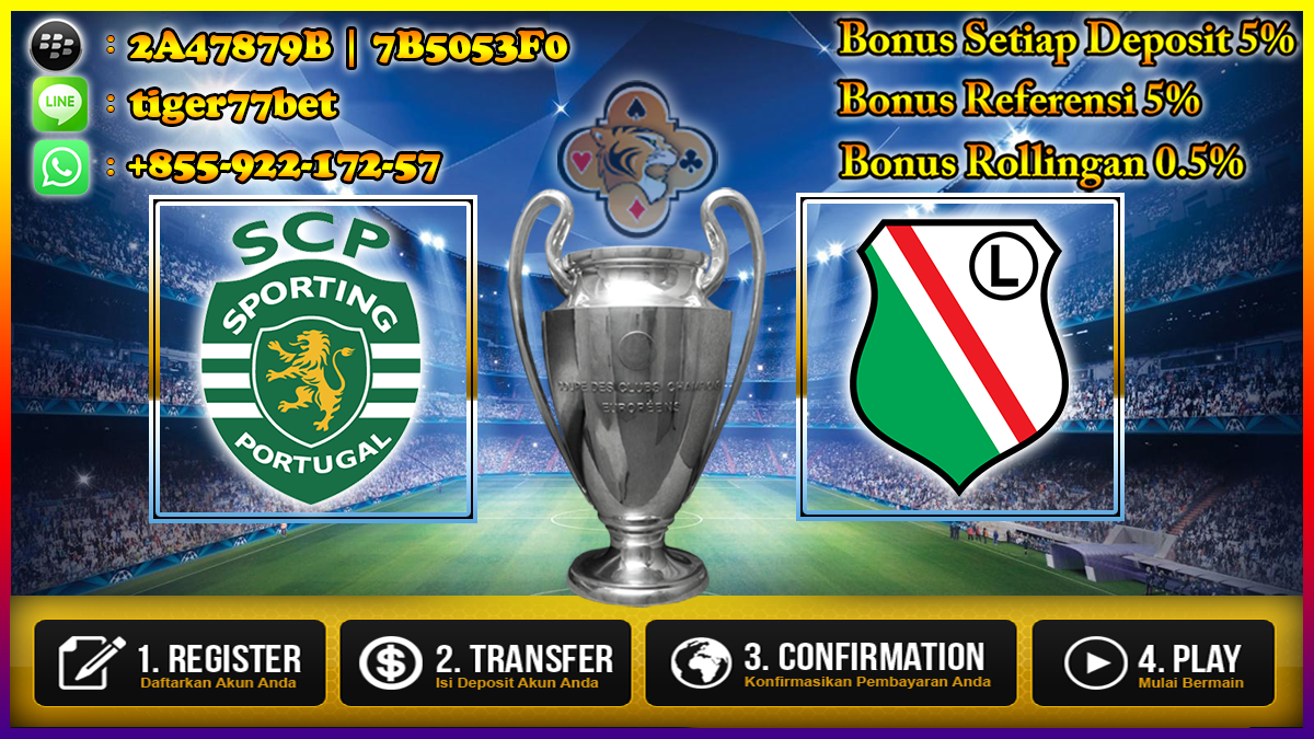 Prediksi Sporting CP vs Legia Warsawa 28 September 2016
