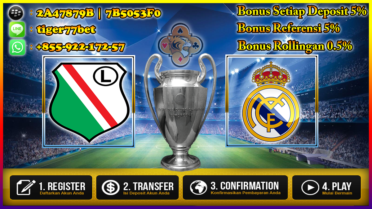 Prediksi Legia Warszawa vs Real Madrid 03 November 2016
