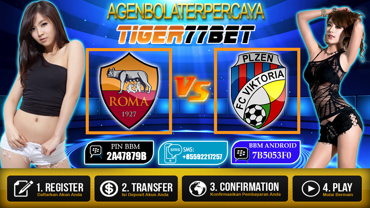 Prediksi AS Roma vs Viktoria Plzen 25 November 2016