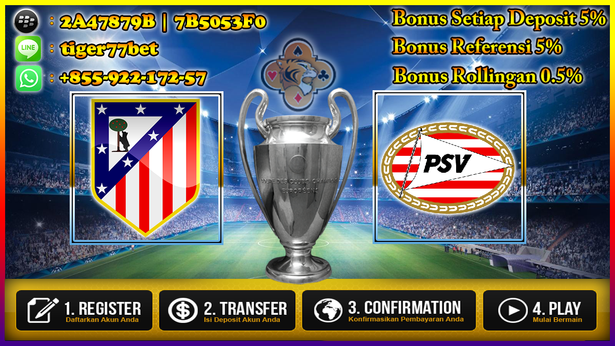 Prediksi Atletico Madrid vs PSV Eindhoven 24 November 2016