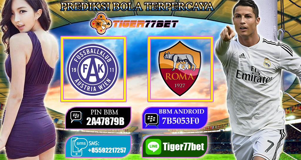 Prediksi Austria Wien vs AS Roma 04 November 2016