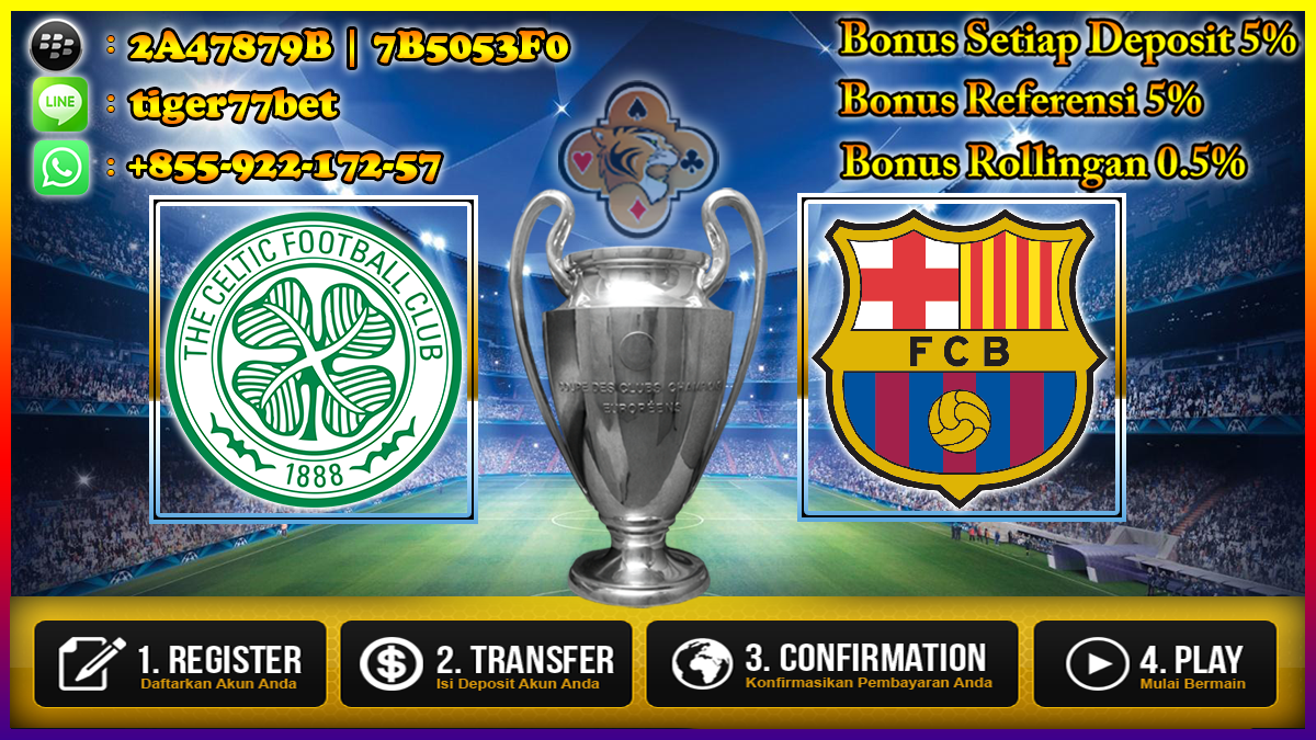 Prediksi Celtic Vs Barcelona 24 November 2016