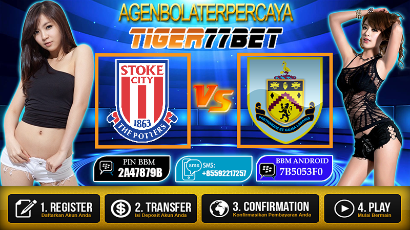 Prediksi Stoke City vs Burnley 03 Desember 2016