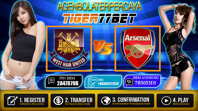 Prediksi West Ham United Vs Arsenal 04 Desember 2016